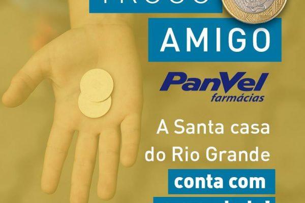 Troco Amigo Panvel. A Santa Casa do Rio Grande conta com a sua ajuda!