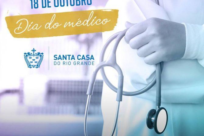 Parabéns pelo dia do Médico