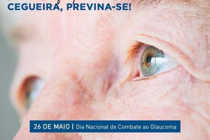 26.05 – Dia Nacional de Combate ao Glaucoma