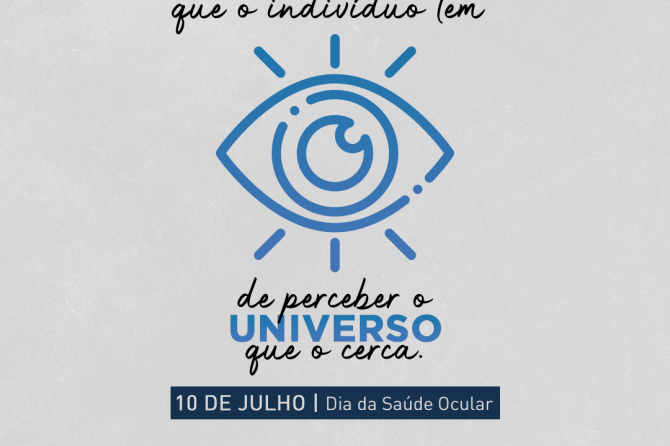 10.07 – Dia da Saúde Ocular
