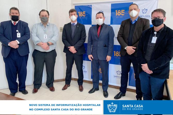 Novo sistema de informatização Hospitalar no Complexo Santa Casa do Rio Grande