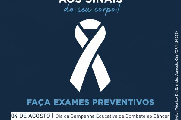 04.08 – Dia Nacional da Campanha de Combate ao Câncer