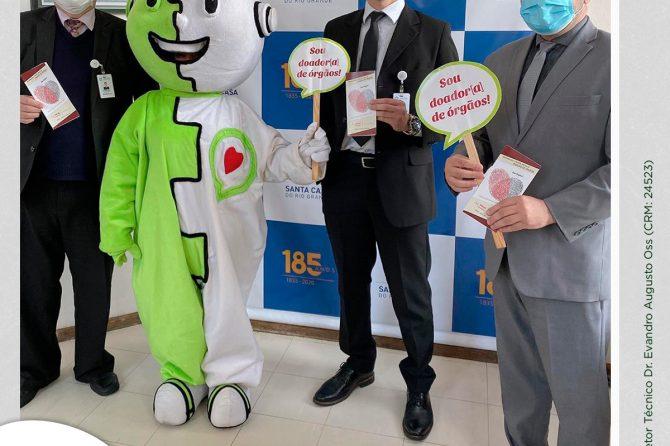 Santa Casa do Rio Grande promove Dia D de incentivo a Doação de Órgãos