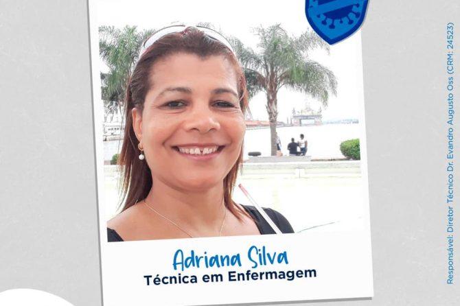Eu faço parte da linha de frente, eu sou Santa Casa do Rio Grande: Adriana Silva