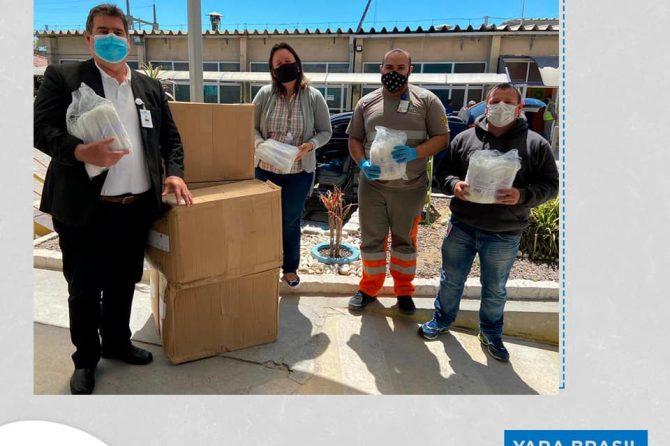 Santa Casa recebe doação de máscaras cirúrgicas