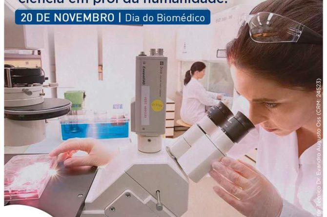 20.11 | Dia do Biomédico