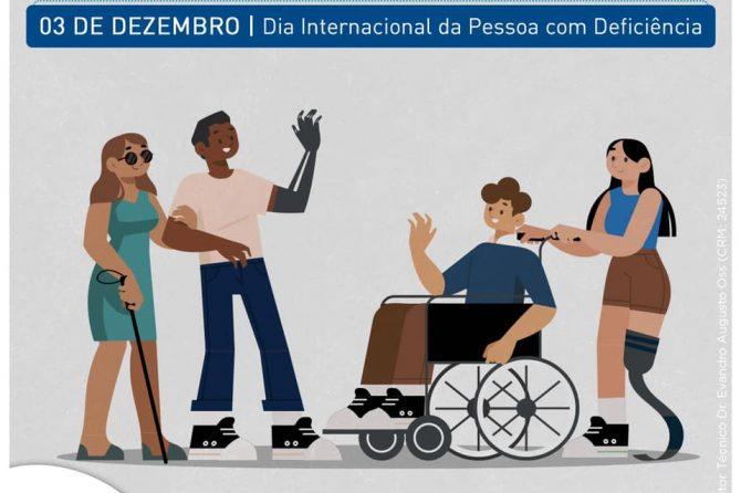 03.11 | Dia Internacional das Pessoas com Deficiência