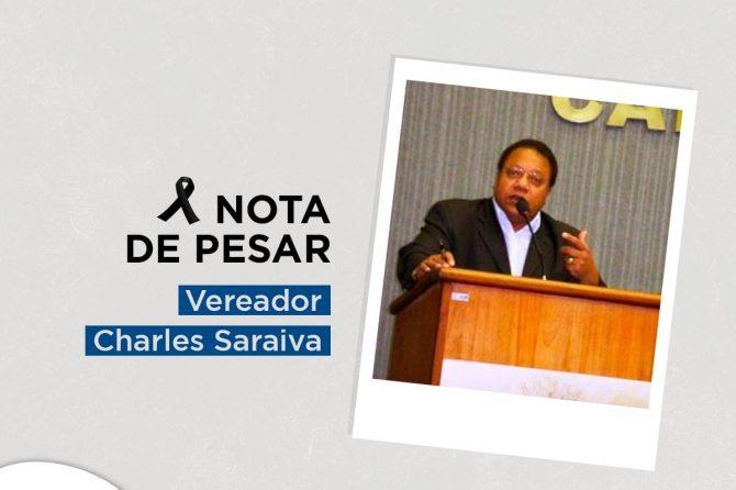 NOTA DE PESAR | Charles Saraiva