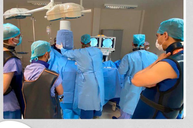 Equipe da Santa Casa do Rio Grande realiza primeira angioplastia com uso de contraste de CO2 no município