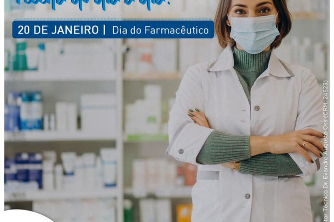 20.01 | Dia do Farmacêutico