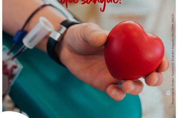 14.06 – Dia Mundial do Doador de Sangue
